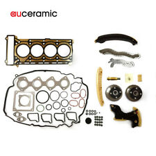 Timing Chain Kit Cylinder Head Gasket for 02-11 Mercedes Benz C230 1.8L M271