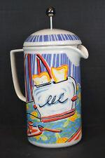 Chaleur, Equipe de Cafe, Ceramic French Press, Fine Art Design, NIB