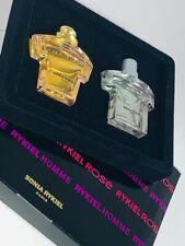 Vintage Sonia RYKIEL ROSE Parfum EDP + EDT MINI Perfume Set for men, Woman