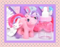 ❤️My Little Pony MLP G1 Vtg 1984 Mail Order BABY Pink Ember Lavender Hair❤️