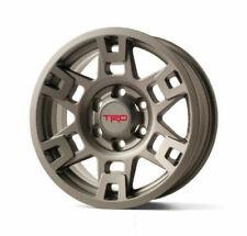 Toyota 4 Runner FJ Cruiser Matte Gray 17 TRD 6 Spoke Alloy Wheels