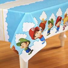 SUPER MARIO BROTHERS BABIES PLASTIC TABLE COVER ~ Birthday Party Supplies Cloth