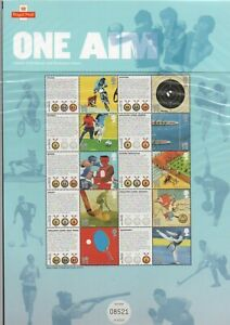LS500 GB 2010 - One Aim, Olympic/Paralympic Games LIMITED EDITION SMILERS SHEET