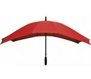 Umbrella Duo Brolly Red Double Size Couples Honeymoon Wedding Large Canopy NEW