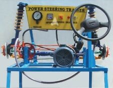 Power Steering System Actual Working Model For Training Purpose - Automobile Lab
