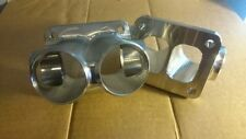 Elmer Racing billet cnc turbo merge collector 6cyl 8cyl twin scroll T4 outlet