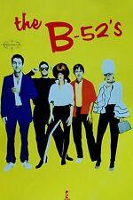 THE B-52'S  *1991 RARE ORIGINAL ISLAND RECORDS POSTER*  POP ROCK