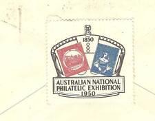 Australia 1950 ANPEX Cinderella Cover H.R. Harmer to UK