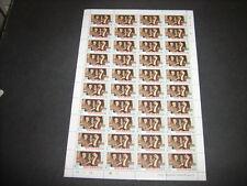 Sheet Nicaraguan Stamps