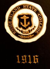 """1916 RHODE ISLAND STATE COLLEGE YEARBOOK """""""" ~~VERY  fine, used condition RARE"""