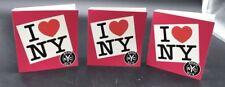 3 Pc BOND No. 9 I Love New York for HER Spray Perfume Samples Carded