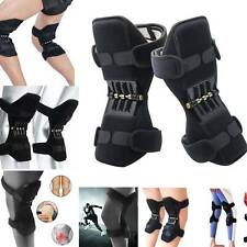Power Lift Joint Support Knee Brace Pads Rebound Spring Force Running Knee Pad 2