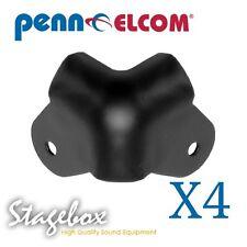 Penn Elcom 4 x Black Cabinet Corners