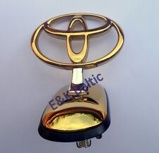 Genuine Toyota Land Cruiser 80 90-98 Front Hood T Emblem Badge Gold 75303-60020