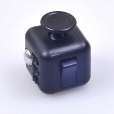 Magic Fidget Cube Anxiety Stress Relief Focus 6-side Black Calm Funny Toy Gift