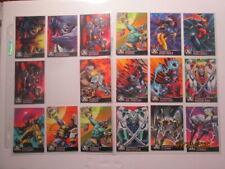 1995 ALL-CHROMIUM X-MEN - ALTERNATE X CARDS - PICK ONE
