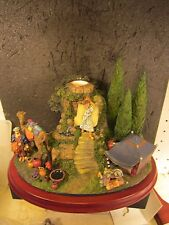 Danbury Mint The Wise Men'S Camp Figural Scene Hold Taper Candle