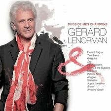 GERARD LENORMAN - DUOS DES MES CHANSONS - 2011 - 13 TITRES - COMME NEUF