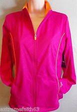 Womens sz M Spalding True to the Game PUllover athletic jacket  119L22
