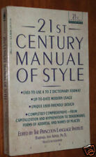 21st Century Manual of Style – big
