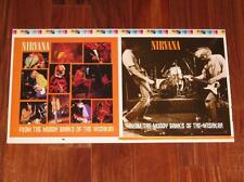 Nirvana FROM THE MUDDY BANKS Rare 2 Sided Poster Uncut Double Printer's Slick