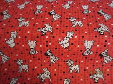 Dalmations puppies baby toddler sheet set  dots