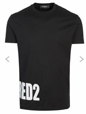 Dsquared2 Designer Logo Print T-shirt 100% Cotton - Size XL - NWTGS - RRP £160