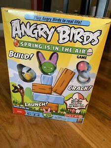 Angry Birds Spring Is In The Air Game Build Launch 2011 Complete Bunny Target
