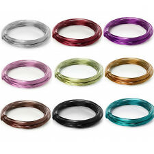 12m Aluminum WIRE for Craft & Jewellery Making Florist Floral 2mm