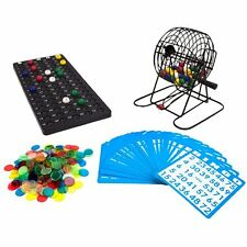 Royal Bingo Sets Supplies Deluxe 6-Inch Game With Colored Balls, 300 Chips And