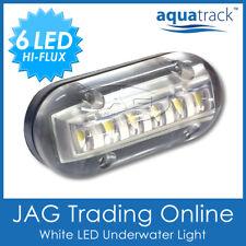 """12V WHITE 6-LED 3W Underwater Boat Transom Light 3.5"""" - Fishing Squid Trailer"""