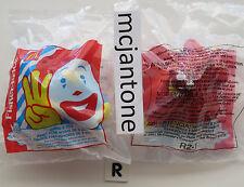 MIP U-3 McDonald's Fisher Price 2001 Under 3 BIRDIE RED PLANE Airplane Grp#R-2-1