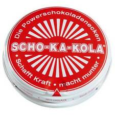 SCHO-KA-KOLA Schokakola Zartbitter/ DARK -Energy Chocolate -FREE SHIPPING