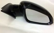 VAUXHALL INSIGNIA (2009 -) O/S DRIVERS SIDE DOOR WING MIRROR PAINTED BLACK NEW