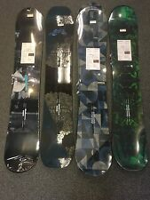 Men's Snowboard 2017 Burton Process Off Axis 152cm.