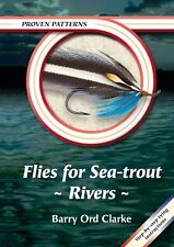 ORD CLARKE FISHING BOOK PROVEN PATTERNS SERIES FLIES FOR SEATROUT RIVERS bargain