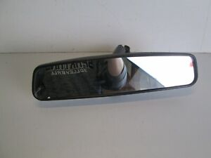 1998-2002 LINCOLN TOWNCAR REAR VIEW MIRROR WINDSHIELD MANUAL DIMMING OEM BLACK