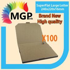100X SuperFlat 300x250x16mm Large Letter Envelope Size Mailing Box Postage Saver