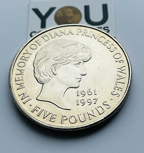 1999 £5 Five Pounds coin The Royal Mint Princess Diana Memorial UK - FREE POST