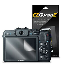 3X EZguardz LCD Screen Protector Skin HD 3X For Canon Powershot G15 (Clear)
