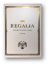 Regalia White Playing Cards by Shin Lim Poker Spielkarten Cardistry