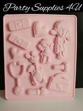 Disney Doc McStuffins silicone mould/mold Chocolate/party/fondant/sweet/nurse