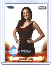TNA SoCal Val #23 2013 Impact Wrestling LIVE GOLD Parallel Card SN 4 of 50