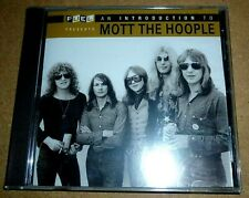 Mott The Hoople - An Introduction To / CD / 2006 / Folie Sealed / USA Fuel 2000