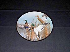 Danbury Mint Collector Plate Hazy Ascent by David Maass Mallards Taking Flight
