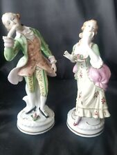 Japanese Porcelain Victorian Couple