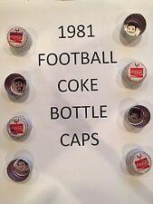 1981 COKE, SPRITE, TAB, MELLO YELLO CAPS - $1.99 each MANY DIFFERENT - You Pick!
