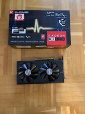 SAPPHIRE PULSE RX570 8GB AMD GRAFIKKARTE RX 570 8 GB OC GAMING DESKTOP POLARIS