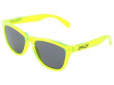 Oakley Frogskins Acid Rain Collection Sunglasses 24-249 Acid Green/Grey