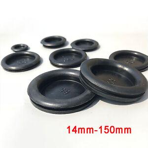 Blindstopfen Gummistopfen Durchgangstüllen Verschlußstopfen Kappe 14mm - 150mm